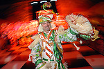 "Charlie Roetz of the Philadelphia Mummers  Quaker City String Band dances at the San Luis Salute to ""The Italian Riviera"" at the Galveston Island Convention Center at the San Luis Friday  Feb. 20, 2009.(Dave Rossman/For the Chronicle)"