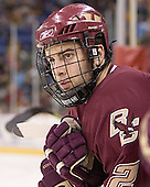 Anthony Aiello - The Boston College Eagles defeated the University of Massachusetts-Lowell River Hawks 4-3 in overtime on Saturday, January 28, 2006, at the Paul E. Tsongas Arena in Lowell, Massachusetts.