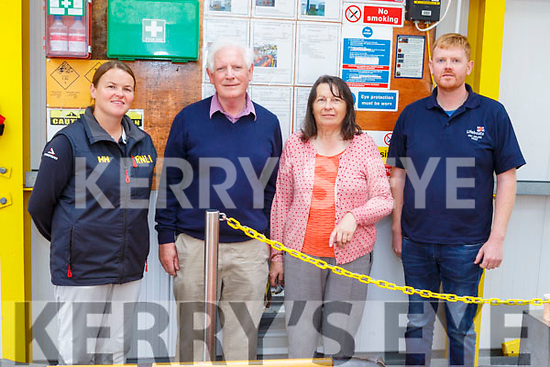 At the open day for the RNLI Lifeboat in Fenit <br /> L to r: Denise Lynch, Frank and Ann Ronan and Giles Kelliher.