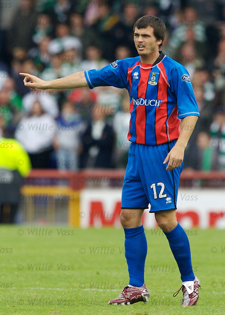 Russell Duncan, Inverness Caledonian Thistle.stock season 2006-2007.pic willie vass