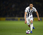 WBA's Nacer Chadli in action during the Premier League match at Vicarage Road Stadium, London. Picture date: April 4th, 2017. Pic credit should read: David Klein/Sportimage