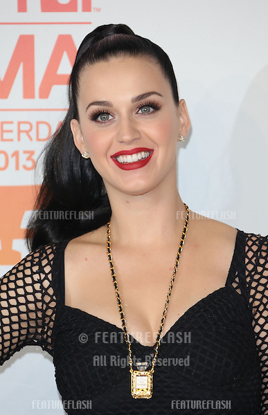 Katy Perry in the press room at, the MTV Europe Music Awards (EMA's) 2013 held at Ziggo Dome - Press Room, Amsterdam, Holland.  10/11/20013 Picture by: Henry Harris / Featureflash
