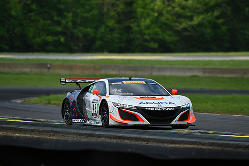 Pirelli World Challenge<br /> Grand Prix of VIR<br /> Virginia International Raceway, Alton, VA USA<br /> Saturday 29 April 2017<br /> Ryan Eversley/ Tom Dyer<br /> World Copyright: Richard Dole/LAT Images<br /> ref: Digital Image RD_PWCVIR_17_211