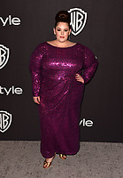 LOS ANGELES, CALIFORNIA - JANUARY 06: Tess Holliday attends the Warner InStyle Golden Globes After Party at the Beverly Hilton Hotel on January 06, 2019 in Beverly Hills, California. <br /> CAP/MPI/IS<br /> &copy;IS/MPI/Capital Pictures