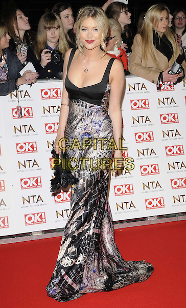 LONDON, ENGLAND - JANUARY 21: Laura Whitmore attends the National TV Awards 2015, The O2 Arena, Millennium Way, Peninsula Square, Greenwich, on Wednesday January 21, 2015 in London, England, UK. <br /> CAP/CAN<br /> &copy;Can Nguyen/Capital Pictures