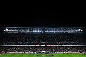 11th January 2018, Camp Nou, Barcelona, Spain; Copa del Rey football, round of 16, 2nd leg, Barcelona versus Celta Vigo; FC Barcelona and Celta de Vigo shake hands on the pitch pre-game