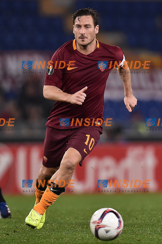 Francesco Totti Roma <br /> Roma 23-02-2017 Stadio Olimpico Football Europa League 2016/2017 Round of 32 <br /> AS Roma - Villarreal Foto Andrea Staccioli / Insidefoto