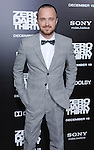 "Aaron Paul at the premiere of ""Zero Dark Thirty"" held at the Dolby Theatre in Hollywood, CA. December 10, 2012"
