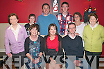 Graduation Dinner : Sarah Quinn, Listowel, centre front, who graduated from Tralee IT as a Bachelor of Business In Tourism, celebrating with her family at Fitzgerald's Restaurant in Listowel on Friday night last. Front : Tina, Sarah & Pat Quinn. Back : Carmel walsh, Aidan Quinn, Michael long, Paudie Quinn, Bridie Quinn & Maureen Quinn.