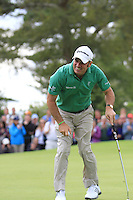 Paul McGinley (IRL) on the 18th Green on Day 1 Thursday of The Irish Open presented by Discover Ireland at Killarney Golf & Fishing Club on 28th July 2011 ..(Photo Jenny Matthews/www.golffile.ie)