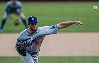 Alex Wood.<br /> Acciones del partido de beisbol, Dodgers de Los Angeles contra Padres de San Diego, tercer juego de la Serie en Mexico de las Ligas Mayores del Beisbol, realizado en el estadio de los Sultanes de Monterrey, Mexico el domingo 6 de Mayo 2018.<br /> (Photo: Luis Gutierrez)