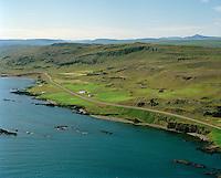 Skálar og Norður-Skálanes séð til suðvesturs, Vopnafjarðarhreppur / Skalar and Nordur-Skalanes viewing southwest, Vopnafjardarhreppur.