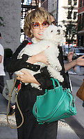NEW YORK, NY-July 12: Parker Posey promoting new Woody Allen movie Cafe Society in New York. NY July 12, 2016. Credit:RW/MediaPunch