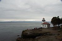 Lime Kiln Light House, San Juan Island, Washington, US