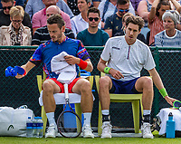 Rosmalen, Netherlands, 11 June, 2019, Tennis, Libema Open, Mens double: Wesley Koolhof (NED) and Marcus Daniell (NZL) (R)<br /> Photo: Henk Koster/tennisimages.com