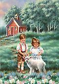 Dona Gelsinger, CHILDREN, paintings(USGEDW22,#K#) Kinder, niños, illustrations, pinturas ,everyday
