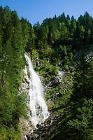 Oesterreich, Salzburger Land, Pongau, Grossarltal: der Kreealmwasserfall | Austria, Salzburger Land, region Pongau: valley Grossarltal: Kreealm waterfall