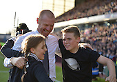 02/05/16 Sky Bet League Championship  Burnley v QPR<br /> Sean Dyche & family celebrate