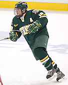 Joey Gasparini - The Boston College Eagles completed a shutout sweep of the University of Vermont Catamounts on Saturday, January 21, 2006 by defeating Vermont 3-0 at Conte Forum in Chestnut Hill, MA.