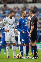 Cristiano Ronaldo in penalty spot