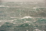 Rough seas near South Georgia Island.
