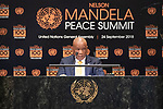 Opening Plenary Meeting of the Nelson Mandela Peace Summit<br /> <br /> <br /> ??????????????????