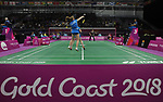 05/04/2018 - Badminton - Gold Coast 2018 - Commonwealth Games - Queensland - Australia