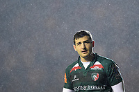 Jonny May of Leicester Tigers looks on during a break in play. European Rugby Champions Cup match, between Leicester Tigers and Munster Rugby on December 17, 2017 at Welford Road in Leicester, England. Photo by: Patrick Khachfe / JMP