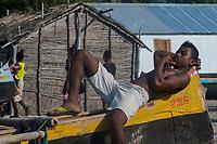 Africa, Madagascar, Ankilibe. Bakuba Hotel. Near the Tropic of Capricorn on the Mozambique channel.