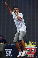 Yungen performs during The New Look Wireless Festival at Finsbury Park, London, England on 28 June 2015. Photo by Andy Rowland.