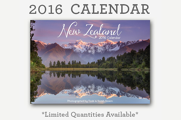 The sisson photography 2016 landscape photography calendar is now in stock and available for purchase.