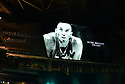MIAMI, FL - JANUARY 27: A tribute to Kobe Bryant is displayed on the video board during the NFL Super Bowl ( LIV)(54) Opening Night at Marlins Park on January 27, 2020  in Miami, Florida. ( Photo by Johnny Louis / jlnphotography.com )