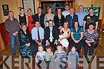 BABY JOY: Proud parents John McDonnell and Elaine Cullinane, Ashgrove, Tralee of little baby Jane who was Christened in St John's Church celebrating with family and friends at Stoker's Lodge restaurant and bar on Saturday front l-r: Eoin McDonnell, Ciaran and Padraig White and Ava Cullinane. Seated l-r: Assumpta Cullinane, Brian Cullinane, John McDonnell, Elaine Cullinane, Jane McDonnell, Karen White and Joan McDonnell. Back l-r: Pat White, Tracy Wallace, Grace Cullinane, Maurice Wallace, Yvone Cullinane, Joanne McDonnell, Barry Cullinane, John McDonnell, Noel O'Connor and Anthony McDonnell.   Copyright Kerry's Eye 2008