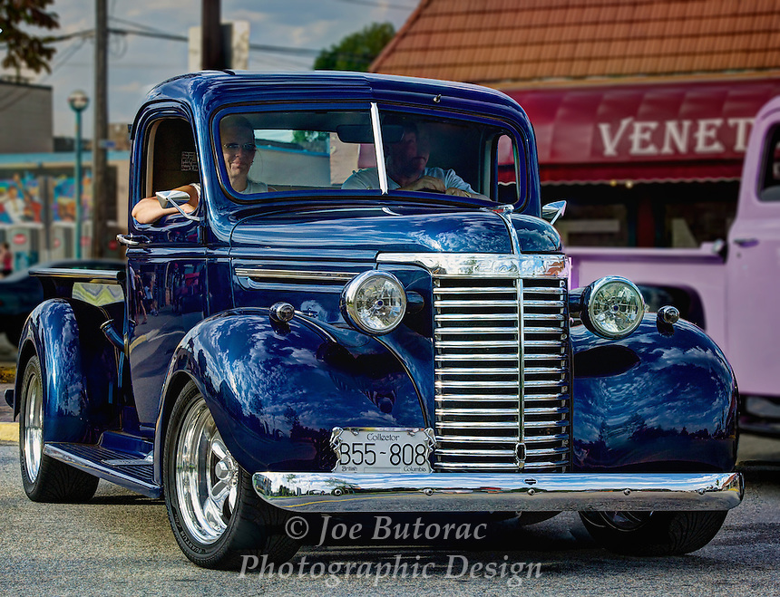 1940 Chevrolet Pickup Truck at the Langley Good Times Cruise-In