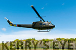 Listowel Military Tattoo: The Huey Hellicopter taking off from Listowel park on Sunday last.