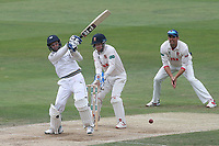 Keshav Maharaj hits out for Yorkshire during Essex CCC vs Yorkshire CCC, Specsavers County Championship Division 1 Cricket at The Cloudfm County Ground on 9th July 2019