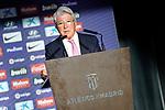 Atletico de Madrid's President Enrique Cerezo. June 28, 2019. (ALTERPHOTOS/Acero)
