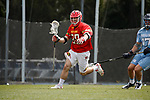 2017 March 25: Ben Chisolm #39 of Maryland Terrapins during a 15-7 win over the North Carolina Tar Heels at Fetzer Field in Chapel Hill, NC.