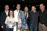 .attending the Broadway Opening Night Actors' Equity Gypsy Robe Ceremony for recipient Matt Wall in 'EVITA' at the Marquis Theatre in New York City on 4/6/2012