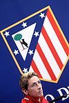 Atletico de Madrid's Fernando Torres in press conference  after Champions League 2015/2016 Semi-Finals 1st leg match. April 26,2016. (ALTERPHOTOS/Acero)
