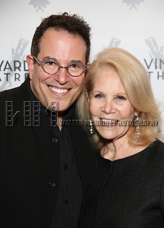 Michael Mayer and Daryl Roth attends the Vineyard Theatre Gala 2018 honoring Michael Mayer at the Edison Ballroom on May 14, 2018 in New York City.