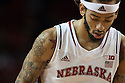 December 4, 2013: Terran Petteway (5) of the Nebraska Cornhuskers shooting two against the Miami (Fl) Hurricanes at the Pinnacle Bank Areana, Lincoln, NE. Nebraska defeated Miami 60 to 49.