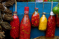 Open-air market, Ver-o-Peso market in Belém, Brazil. Pepper and condiments.