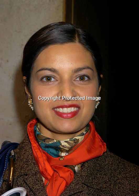 Jhumpa Lahiri..at the 2003 New York Magazine Awards on December 15, 2003 at the Four Seasons Restaurant . Photo by Robin Platzer, Twin Images