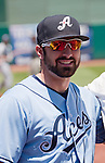 Aces Adam Eaton before the Reno Aces vs Tucson Padres game played on Sunday afternoon June 17, 2012 at Aces Ballpark in Reno, NV.