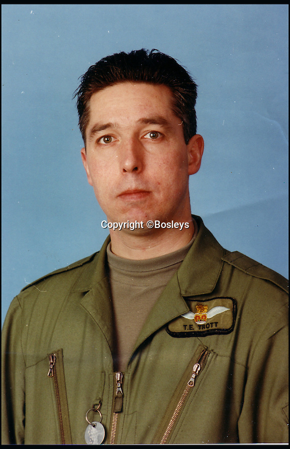 BNPs.co.uk (01202 558833)<br /> Pic: Bosleys/BNPS<br /> <br /> Flight Lieutenant Tim Trott.<br /> <br /> A British helicopter pilot who risked his life to twice fly his Chinook helicopter into a battle-zone in Afghanistan and rescue wounded soldiers is selling his bravery medals.<br /> <br /> Flight Lieutenant Tim Trott had to dodge exploding vehicle-mounted bombs, rocket propelled grenades and automatic weapons fire from the Taliban to land in the middle of a brutal firefight.<br /> <br /> He and his crew held their nerve as numerous casualties were lifted into the back of the Chinook, which presented and big and easy target for the enemy.<br /> <br /> He is now selling his DFC at auction.