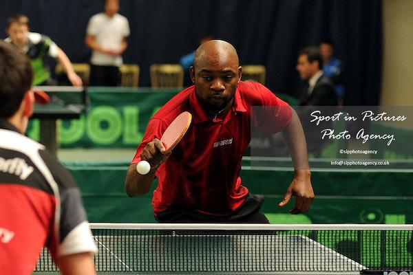 TABLE  TENNIS - Bribar London Grand Prix. Redbridge Sports Centre, Barkingside, Essex. 26/05/2013. MANDATORY Credit Peter Reynolds/SIP - NO UNAUTHORISED USE - 07837 394578