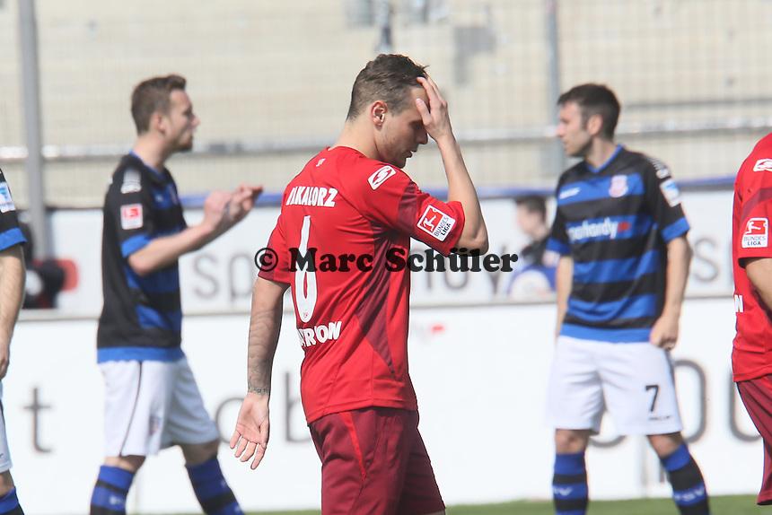 Marvin Bakalorz (Paderborn) - FSV Frankfurt vs. SC Paderborn 07, Frankfurter Volksbank Stadion