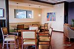 Interior Raquet Club, Dayton Ohio. 29 stories Lounge.