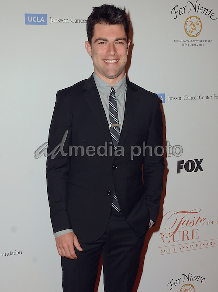 "01 May 2015 - Beverly Hills, California - Max Greenfield. ""Taste for a Cure"" 20th Anniversary benefiting UCLA's Jonsson Comprehensive Cancer Center held at Beverly Wilshire Hotel. Photo Credit: Birdie Thompson/AdMedia"